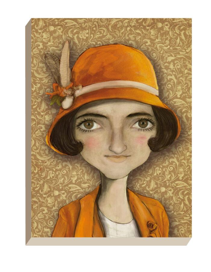 Maartse Hazen - Winkel | Portret Adele Filomenia Mathilde