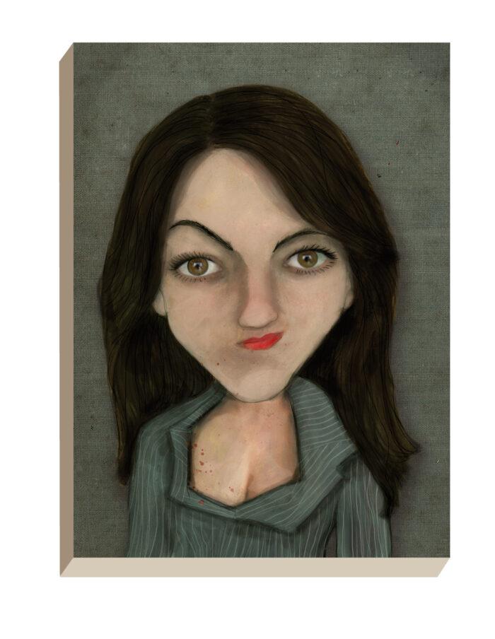 Maartse Hazen - Winkel | Portret Annemarie