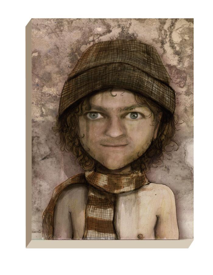 Maartse Hazen - Winkel | Portret Kraker Muts