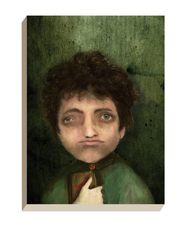 Maartse Hazen - Winkel | Portret Mark met een K